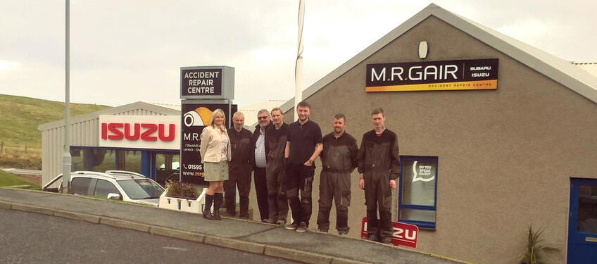 The Team at MR Gair